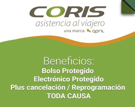 beneficios de Coris April Assistance
